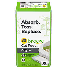 Purina® TIDY CATS® BREEZE® Litter Box Cat Pads Refill