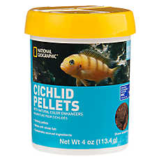 National Geographic™ Large Cichlid Food