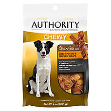 Authority® Chewy Wrap Dog Treat