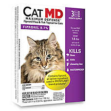 Cat MD Maximum Defense™ Over 1.5 Lb Cat Flea & Tick Treatment