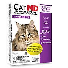 Cat MD Maximum Defense™ Over 1.5 Lb Cat Flea & Tick Treatment