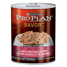Purina® Pro Plan® Savor® Adult Dog Food - Lamb & Vegetable