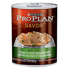 Purina® Pro Plan® Savor® Adult Dog Food - Turkey & Vegetable