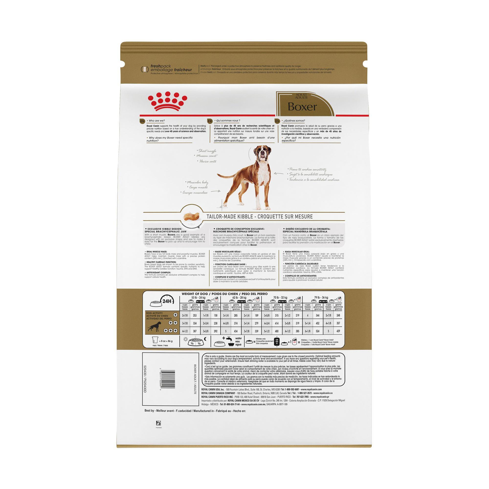 Royal Canin Breed Health Nutrition Trade Boxer Adult Dog Food Dog Dry Food Petsmart