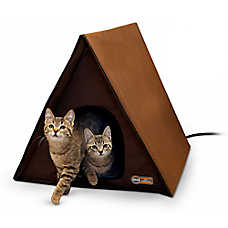 K&H Outdoor A-Frame Cat Bed