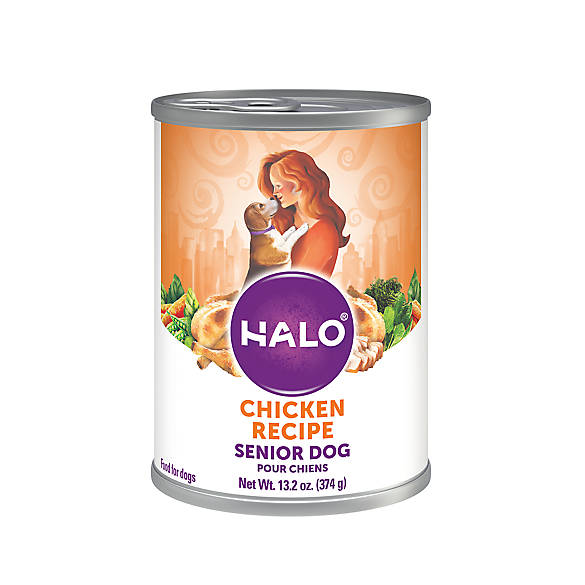 Halo Chicken Dog Food Calories