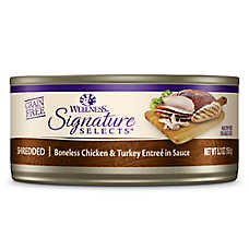 Wellness® Signature Selects™ Shredded Grain Free Adult Cat Food