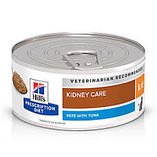 Hill's® Prescription Diet® k/d Kidney Care Cat Food - Tuna
