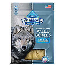 BLUE Wilderness® Dental Chews Grain Free Wild Bones Dental Dog Chew