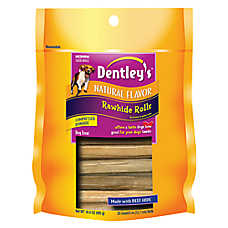 Dentley's® Rawhide Rolls Dog Treat