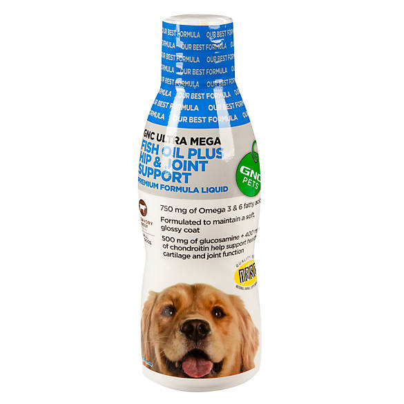 GNC Pets® Ultra Mega FishOil Plus Hip & Joint Support