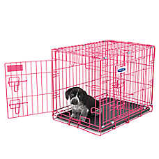 Petmate 2-Door Puppy Training Retreat Dog Crate