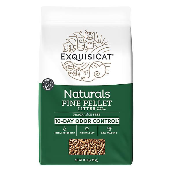 exquisicat naturals pine cat litter cat litter petsmart. Black Bedroom Furniture Sets. Home Design Ideas