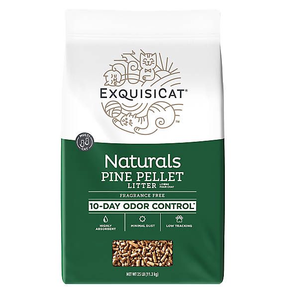 Exquisicat Pine Cat Litter