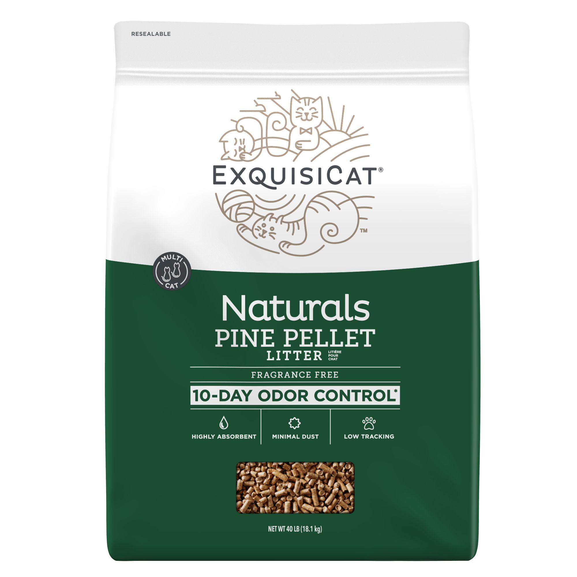 ExquisiCat Naturals Pine Cat Litter