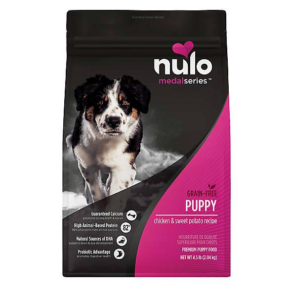 Nulo Medalseries Puppy Food Grain Free Chicken Sweet Potato