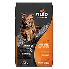 Nulo MedalSeries Large Breed Adult Dog Food - Grain Free, Turkey & Peas