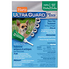 Hartz® UltraGuard® Plus Flea & Tick Treatment for Dogs and Puppies