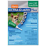 Hartz® UltraGuard® Plus Flea & Tick Treatment for Dogs and Puppies