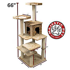 "Majestic Pet 66"" Casita Cat Tree"