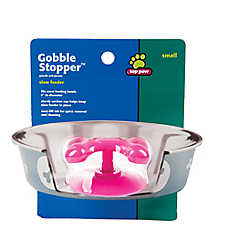 Top Paw® Gobble Stopper Slow Feeder Accessory (COLOR VARIES)