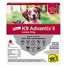 K9 advantix® II 21-55 Lb Dog Flea & Tick Treatment