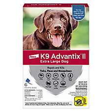 sale $67.99 K9 Advantix® II flea & tick prevention, 6 pk.