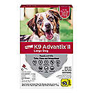K9 Advantix II dog food