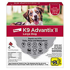 sale $48.99 K9 Advantix® II dog flea & tick prevention
