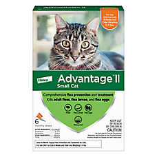 sale $58.99 Advantage® II cat flea & tick prevention