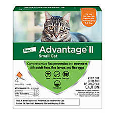Advantage® II 5-9 lbs Cat Flea Prevention & Treatment