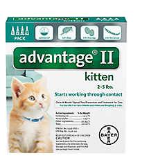 Advantage® II 2-5 lbs Kitten Flea Prevention & Treatment