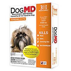 Dog MD™ Maximum Defense 4-22 Lb Dog Flea & Tick Treatment