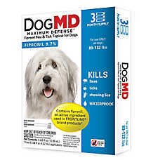 Dog MD™ Maximum Defense 89-132 Lb Dog Flea & Tick Treatment