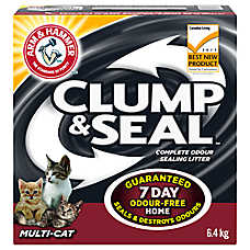 ARM & HAMMER™ Clump & Seal Multi-Cat Litter