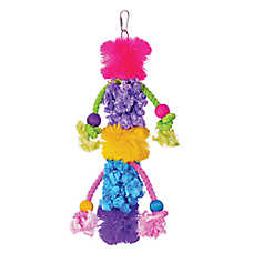 Prevue Pet Products Calypso Creations Wild N Wooly Bird Toy
