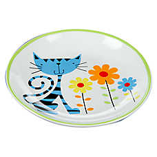 Whisker City® Spring Kitty Cat Saucer