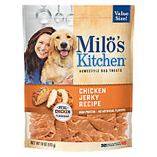 Milo's Kitchen Dog Treat - Chicken Jerky