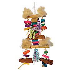 Prevue Pet Products Bodacious Bites Fluff N Stuff Bird Toy