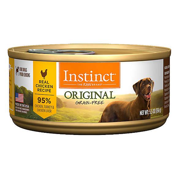 Instinct Dog Food From Natures Variety Petsmart