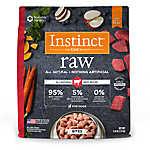 Nature's Variety® Instinct® Raw Bites Dog Food - Natural, Grain Free, Frozen Raw