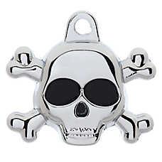 TagWorks® Skull Personalized Pet ID Tag