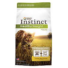 Nature's Variety® Instinct® Raw Boost Healthy Weight Cat Food - Grain Free, High Protein, Chicken