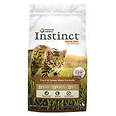 Nature's Variety® Instinct® Cat Food - Grain Free, Duck & Turkey
