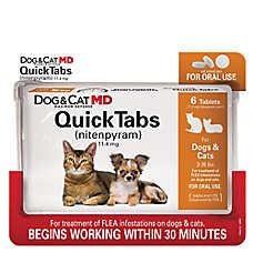 Dog & Cat MD™ Maximum Defense QuickTabs Nitenpyram 2-25lb Flea Treatment