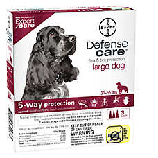 Bayer Defense Care 21-55 Lb Dog Flea & Tick Protection