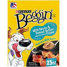 Purina® Beggin' Strips Dog Treat - Bacon & Peanut Butter