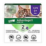 Advantage® II Over 9 lbs Cat Flea Prevention & Treatment