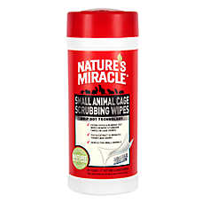 NATURE'S MIRACLE™ Small Pet Cage Wipes