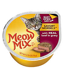 Meow Mix® Savory Morsels Cat Food